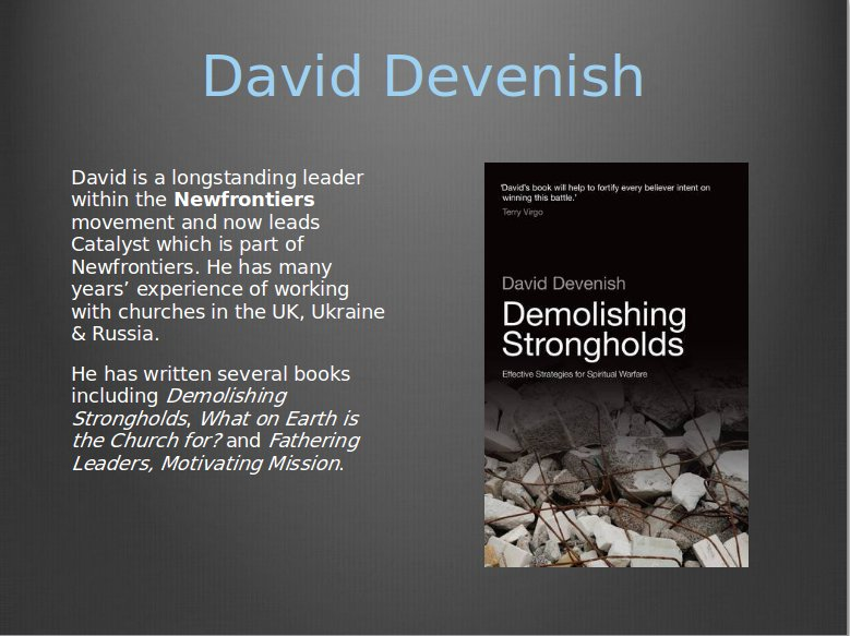David Devenish Your Kingdom